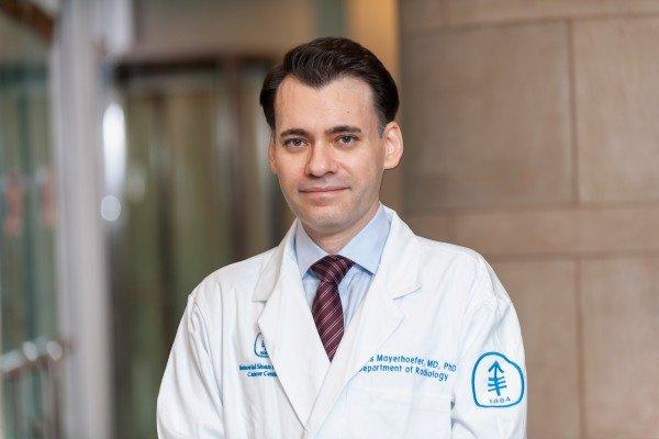 Memorial Sloan Kettering radiologist Marius Mayerhoefer