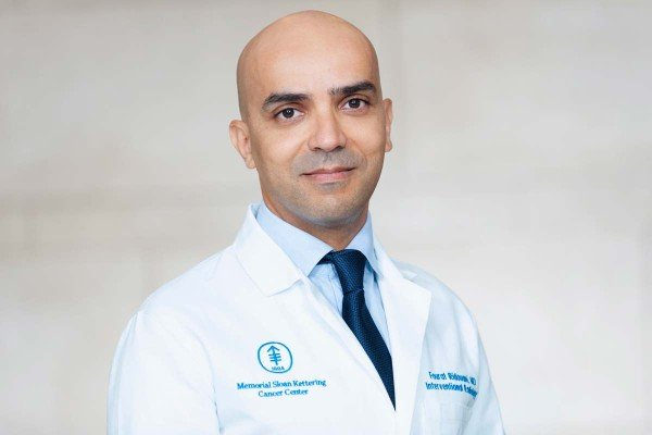 Memorial Sloan Kettering interventional radiologist Fourat Ridouani