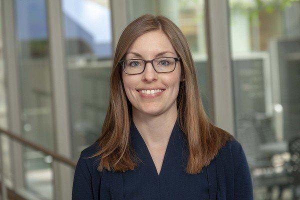Memorial Sloan Kettering clinical chemist Katie Thoren