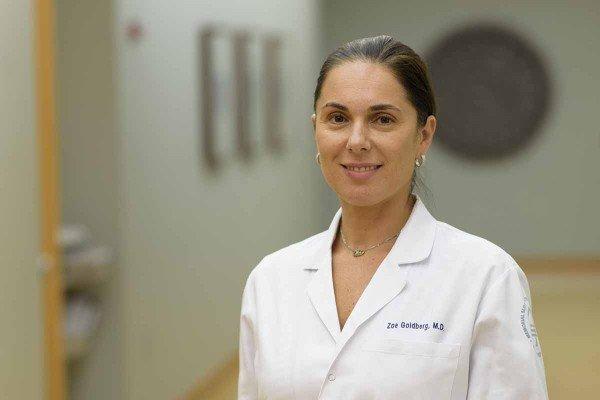 Memorial Sloan Kettering medical oncologist Zoe Goldberg