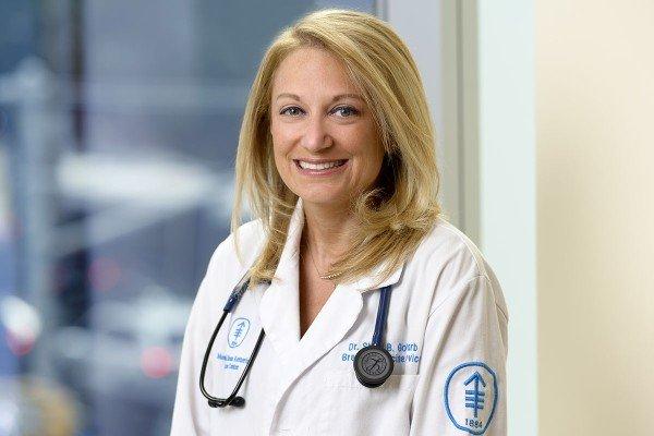 Memorial Sloan Kettering Medical Oncologist Shari B. Goldfarb