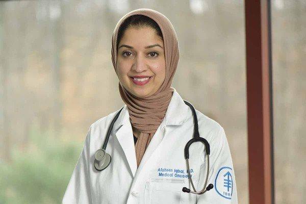 MSK medical oncologist Afsheen Iqbal