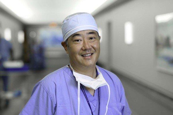 Memorial Sloan Kettering surgeon Bernard Park