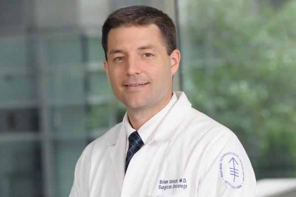 Memorial Sloan Kettering surgeon Brian Untch