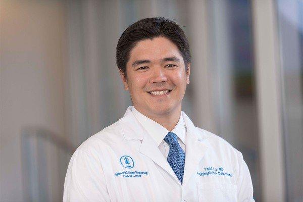 Memorial Sloan Kettering anesthesiologist Todd Liu