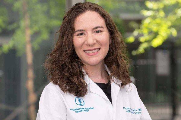 Memorial Sloan Kettering hematologic oncologist Alison Moskowitz