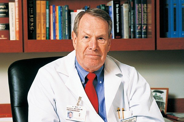 Roger S. Wilson, MD -- Chair, Department of Anesthesiology and Critical Care Medicine; Founder's Chair
