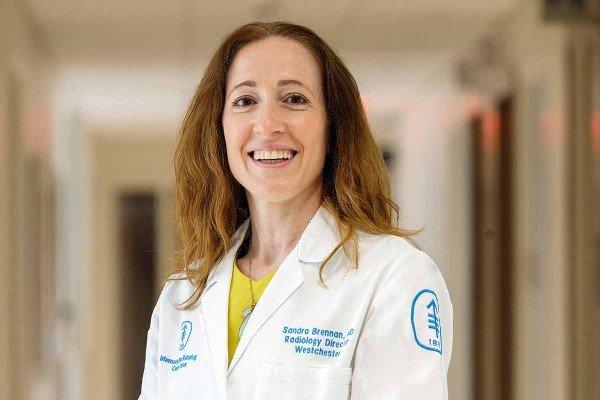 MSK breast radiologist Sandra Brennan