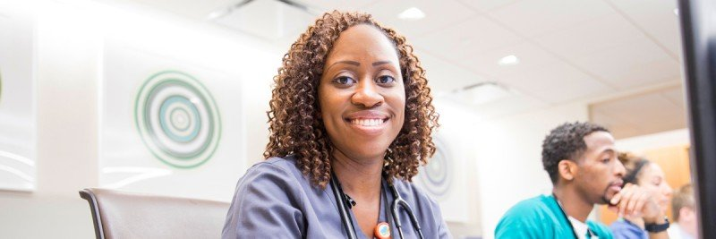 pictured: msk Nurse Kameelah Brown