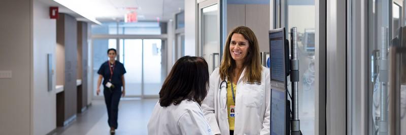 Healthcare professionals at Josie Robertson Surgery Center