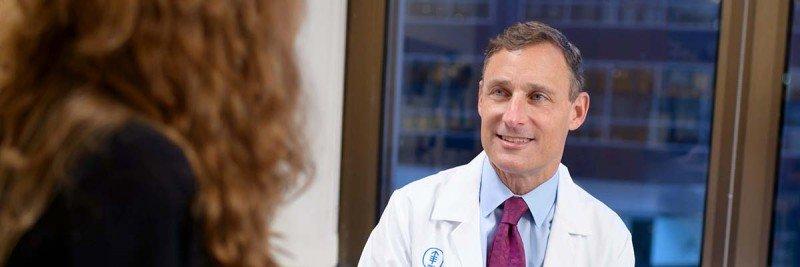 Colorectal surgeon Martin Weiser
