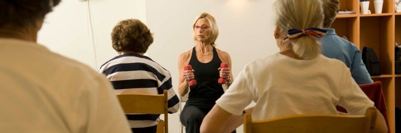 Cancer care patients maintaining physical activity