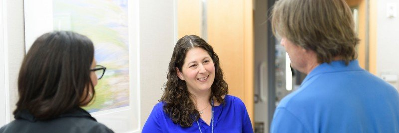 MSK social worker Janine Genovese