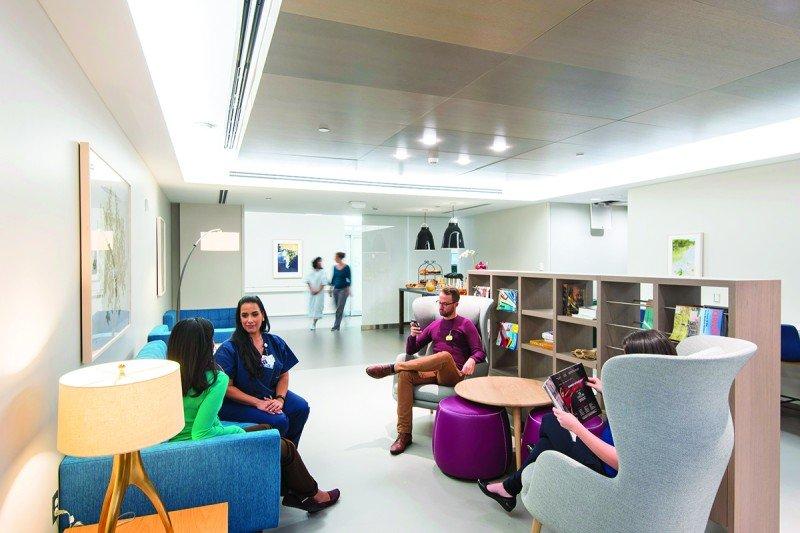 Josie Robertson Surgery Center patient lounge