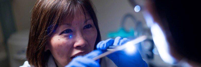 Memorial Sloan Kettering speech pathologist Margaret Ho