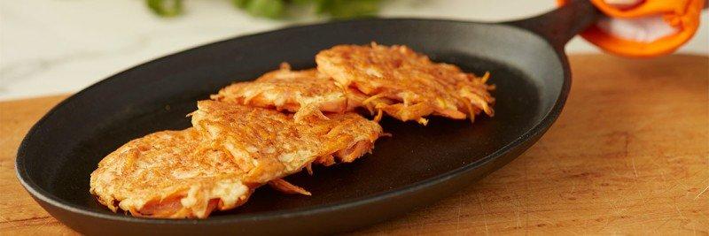 Sweet Potato Hash Brown Patty