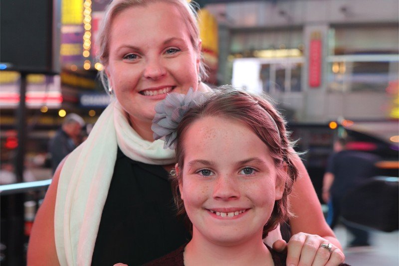 MSK patient Reese and her mom