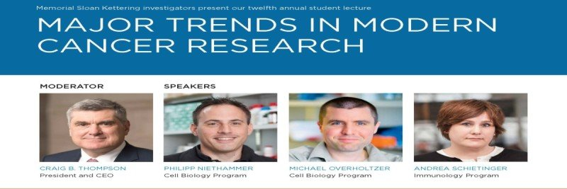 2017 Major Trends in Modern Cancer Research