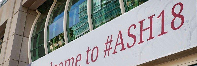 ASH meeting signage