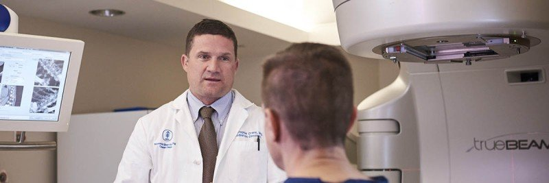 MSK radiation oncologist and anal cancer expert Christopher Crane