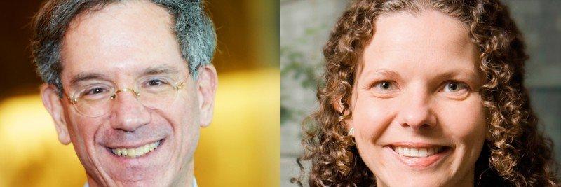 Pictured: Kenneth Offit & Zsofia Stadler