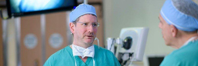 Neurosurgeon Cameron Brennan
