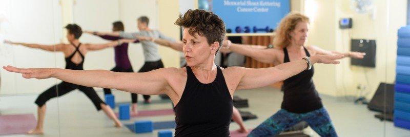 Yoga therapist Catherine Genzler