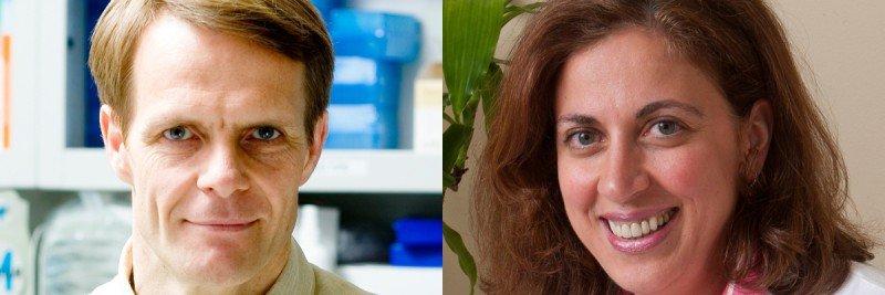 Pictured: Lorenz Studer and Viviane Tabar