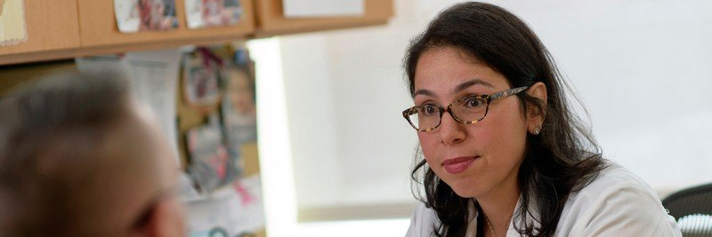 Medical oncologist and male breast cancer expert Ayca Gucalp