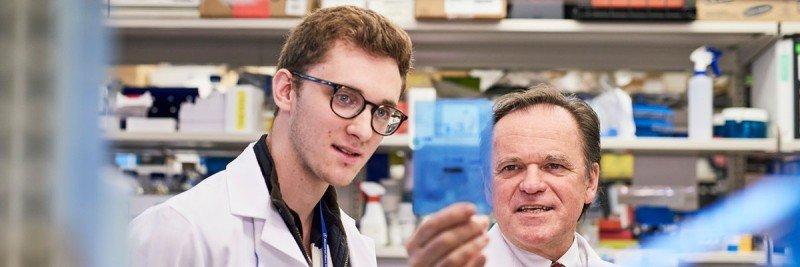 Molecular biologist Simon Powell