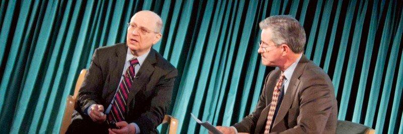 Larry Norton (left) and Max Gomez